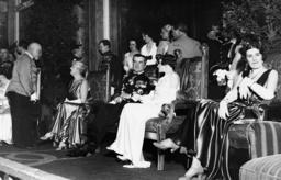 Miklos Horthy at a ball, 1932