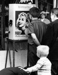 Peepshow on funfair in the 1960s