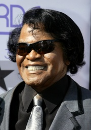 File photo of Singer James Brown arriving for the third annual Black Entertainment Television Awards in Hollywood