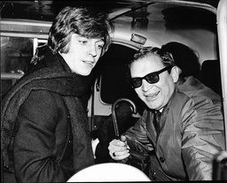 Georgie Fame With Manager Rik Gunnell After Leaving Court Hearing.