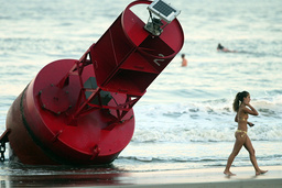 The day after Hurricane Isabel makes landfall in Virginia.