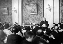 Maxim M. Litvinov at the Disarmament Conference in Geneva, 1932