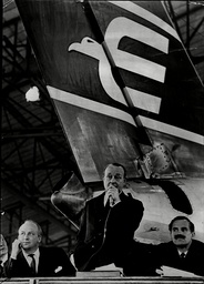 The British Eagle Creditors Meeting At London Airport. British Eagle International Airlines Was A Major British Independent Airline That Operated From 1948 To 1968. Founded As Eagle Aviation It Was Declared Bankrupt In Nov 1968. For Full Caption See