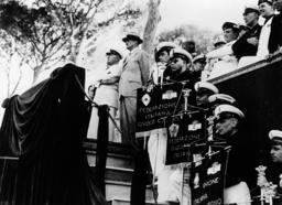 Mussolini und von Hassell 1936 / Foto - Mussolini & v.Hassell Photo / 1936 -