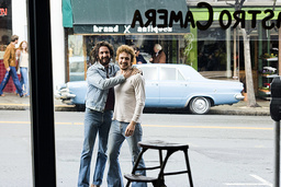 MILK, from left: Sean Penn, James Franco, 2008. ©Focus Features/Courtesy Everett Collection