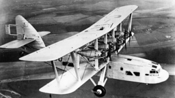 Passagierflugzeug Scylla / Foto 1934 - Passenger plane Scylla / Photo 1934 -
