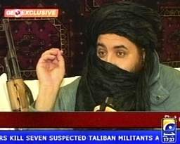 Undated handout file video footage shows Taliban's military chief Osmani in Kabul