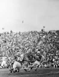 LSU FOOBALL ACTION 1963