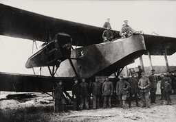 1.Wk. engl.Flugzeug, dt.Kriegsbeute 1918 - WWI / British Air Force / Spils of War 1918 -