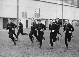 Ac Milan Footballers Training For European Cup Game Against Ipswich Nov 1962 Ac Milan..ghezzi David Trebbi Radice Maldini Trapootoni Lodetti Sani Altafini Rivera Barison ..