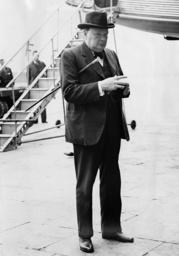 Winston Churchill, 1936