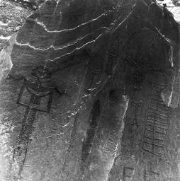 Vallée des Merveilles, Felsgravuren / Foto 1963 - Vallée des Merveilles, Rock Engravings / Photo / 1963 - Vallée des Merveilles, gravures rupestres