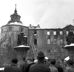 Langenburg Castle badly damaged by fire