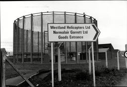 Aircraft Manufacturers Westland Helicopters Wesltland Helicopter Factory In Yeovil.