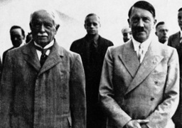 David Lloyd George, Joachim von Ribbentrop and Adolf Hitler, 1936