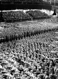 Swearing in of NSDAP Functionaries