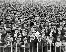Aston Villa V Birmingham League Match At Villa Park - 1930