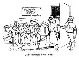 Stalin u. d.baltischen Staaten/Karikatur - Stalin & Baltic States / Caricature - Staline et les pays baltes / Caricature