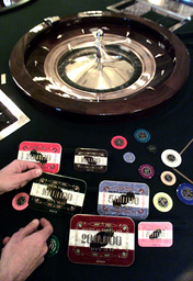 EURO CURRENCY GAMBLING CHIPS INTRODUCED AT THE MONTE CARLO CASINO