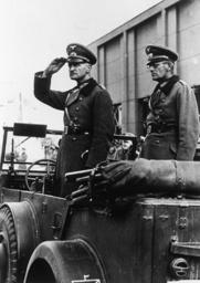 Einzug der Wehrmacht in Warschau, 1939. - Wehrmacht in Warsaw 1939 / Photo -