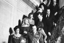 Rose Kennedy, Edward Kennedy, Eunice Shriver, Joan Kennedy