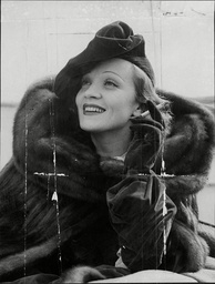 Marlene Dietrich (dead May 1992) Actress.