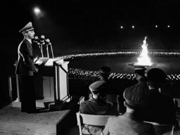 Joseph Goebbels at a Midsummer Festival, 1938