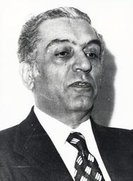 Lebanese Politician Elias Sarkis (1924-1985)