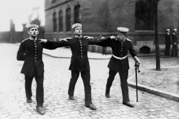 Recruits of a Cavalry Regiment Learn How to March, 1913
