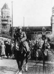 Einmarsch ins Rheinland 7.3.1936 - Entering the Rhineland, 7.3.1936 -
