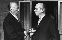 Adenauer and Globke in Rome
