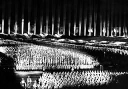 'Cathedral of Light' on the Nazi Party Rally, 1936