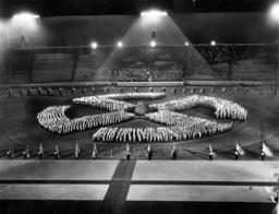 Midsummer festival in the Berlin Olympic stadium, 1938