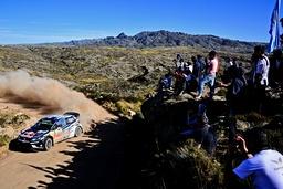 WRC Rally Argentinien Andreas Mikkelsen NOR Jaeger Synnevag NOR Volkswagen Polo WRC Motorsport R