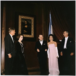 Kennedys Unveil the Mona Lisa in Washington