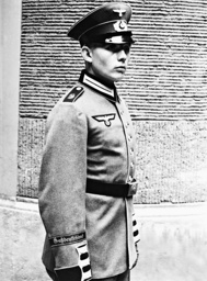 Soldier of the regiment 'Greater Germany', 1939