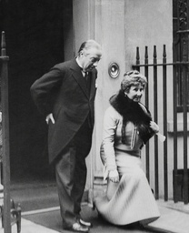 Mr And Mrs Stanley Baldwin Leaving Downing Street Stanley Baldwin 1st Earl Baldwin Of Bewdley Kg Pc (3 August 1867 ? 14 December 1947) Was A British Conservative Politician Statesman And Prime Minister. He Served Three Times As Prime Minister; First