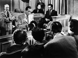 1949 - Knock on Any Door - Movie Set
