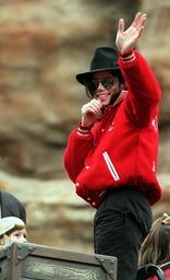 Jacko Michael Jackson rides a rollercoaster in Phantasialand Brühl