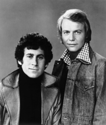 STARSKY AND HUTCH, from left: Paul Michael Glaser, David Soul, 1975-79.