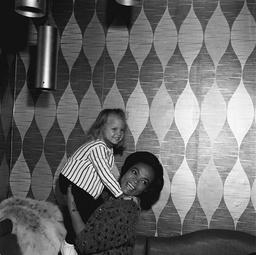 EARTHA KITT AND DAUGHTER KITT MCDONALD (3) 09 FEB 1965
