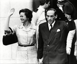 Jeremy Thorpe And His Wife After He Was Acquitted In His Trial