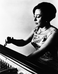 Pianist Alicia de Larrocha, 1970