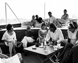 ARISTOTLE ONASSIS AND FRIENDS -  MARCH 1975