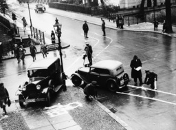 Unfallkommando in Berlin 1936 - Accident investigators / Berlin / 1936 -