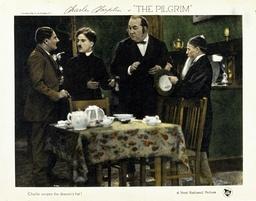 1923 - The Pilgrim - Movie Set