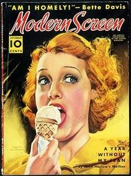 Cover of 'Modern Screen', 1938.