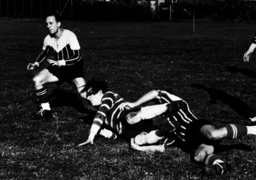 Rugby-Spiel Berliner Mannschaften / Foto - Rugby Match, Berlin Teams / Photo / 1939 - Match de rugby,Équipes berlinoises/Photo
