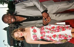 ACTRESS PENELOPE ANN MILLER AND SEAL AT PREMIERE