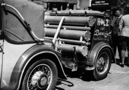 Automotive gas wood power, 1935